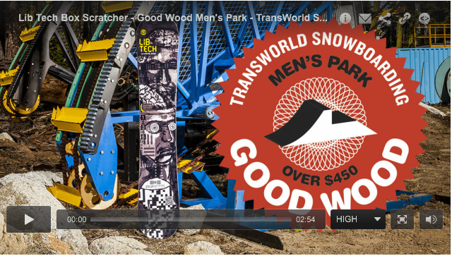 Image From Transworld Good Wood Winners Lib Tech: TRS Narrows & Burtner Box Scratcher