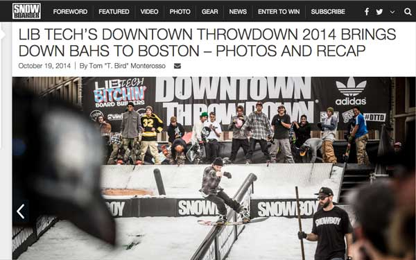 Image From Snowboarder Mag Photo Recap DTTD !