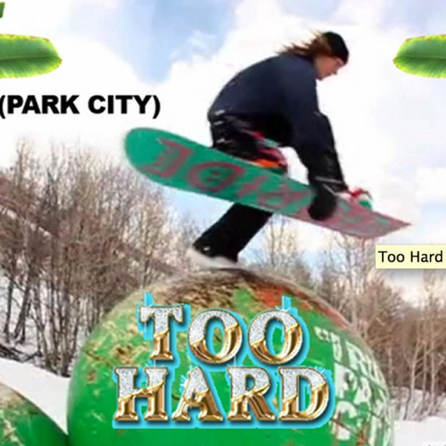 Image From TOO HARD Drops Edit Filmed at Park City
