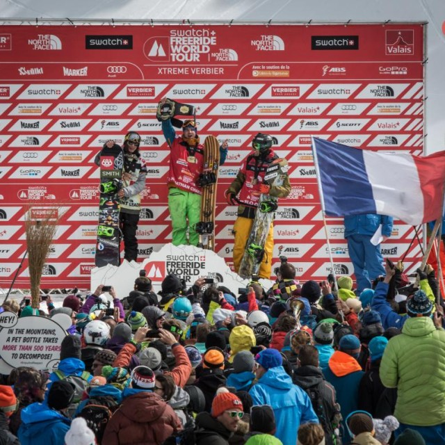 Image From Sammy Luebke and Shannon Yates Both Get 2nd Overall in Freeride World Tour